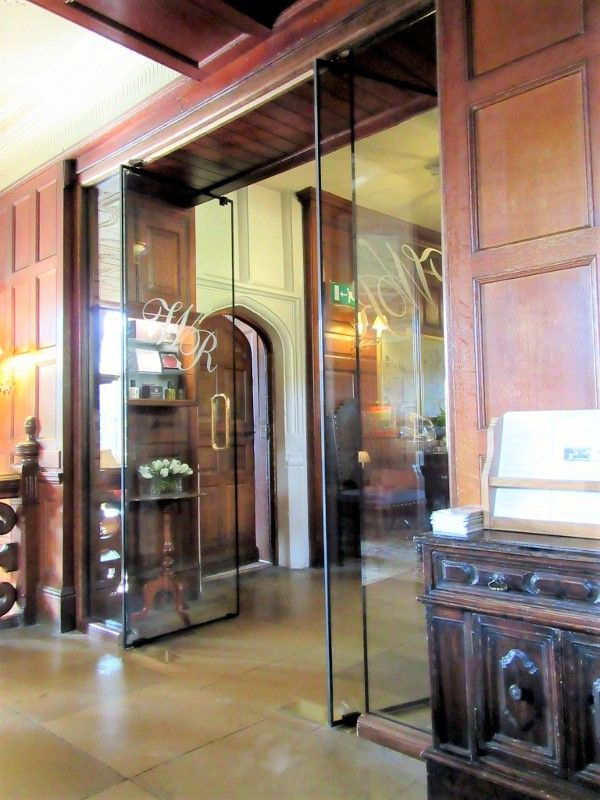 Bespoke Pivot Glass Doors In Fire Rated To Historic Hotel Entrance The Frameless Safety Included Custom Manifestations Designs