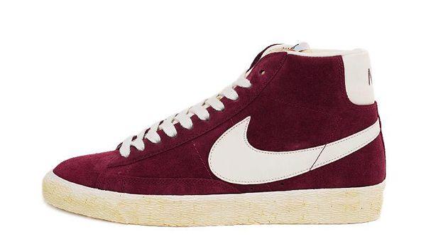 Haut Top Nike Blazers Couleur Bordeaux