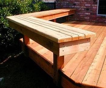 Best Deck Benches Design Ideas With Images Deck Bench Backyard Diy Deck