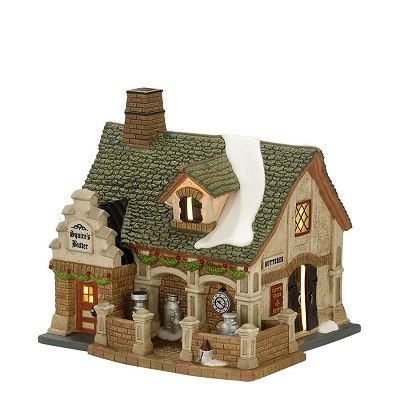"DEVONSHIRE CREAMERY    Lit House  Size: 5.59""H x 5.32""W x 6.38""L  Materials: Porcelain  Introduction: January 2012    Your Price: $75.00"