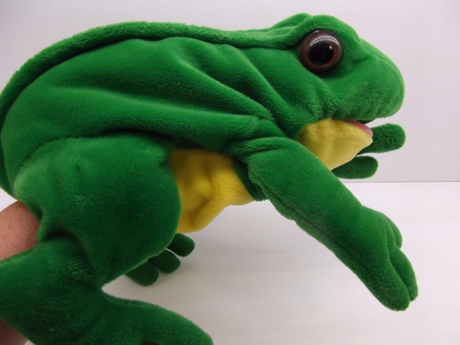 Frog Puppet By Dakin