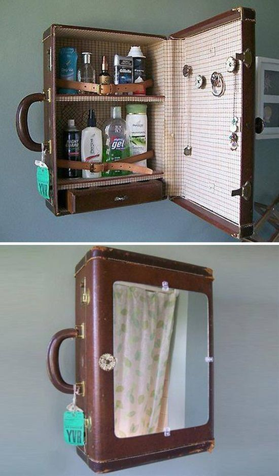 13 Smart Ideas to Decorate Your Home with Vintage Suitcases | Postris, # ...