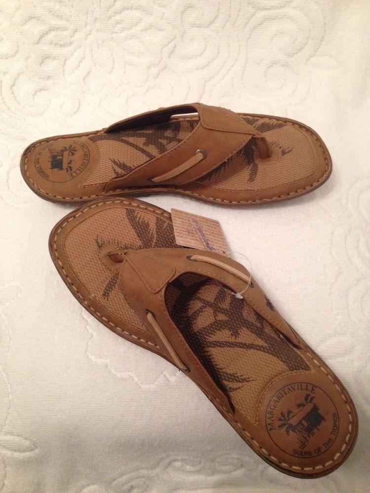 8821c37b788f Margaritaville Soles of the Tropics Men s Sandals SIZE 10-tg1132-05   Margaritaville  FlipFlops