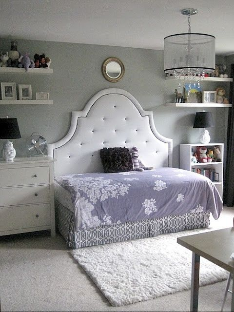 Superieur DIY Full Size Daybed | Day Bed Girls Room Idea. Full Size Headboard And  Twin Bed For Small .