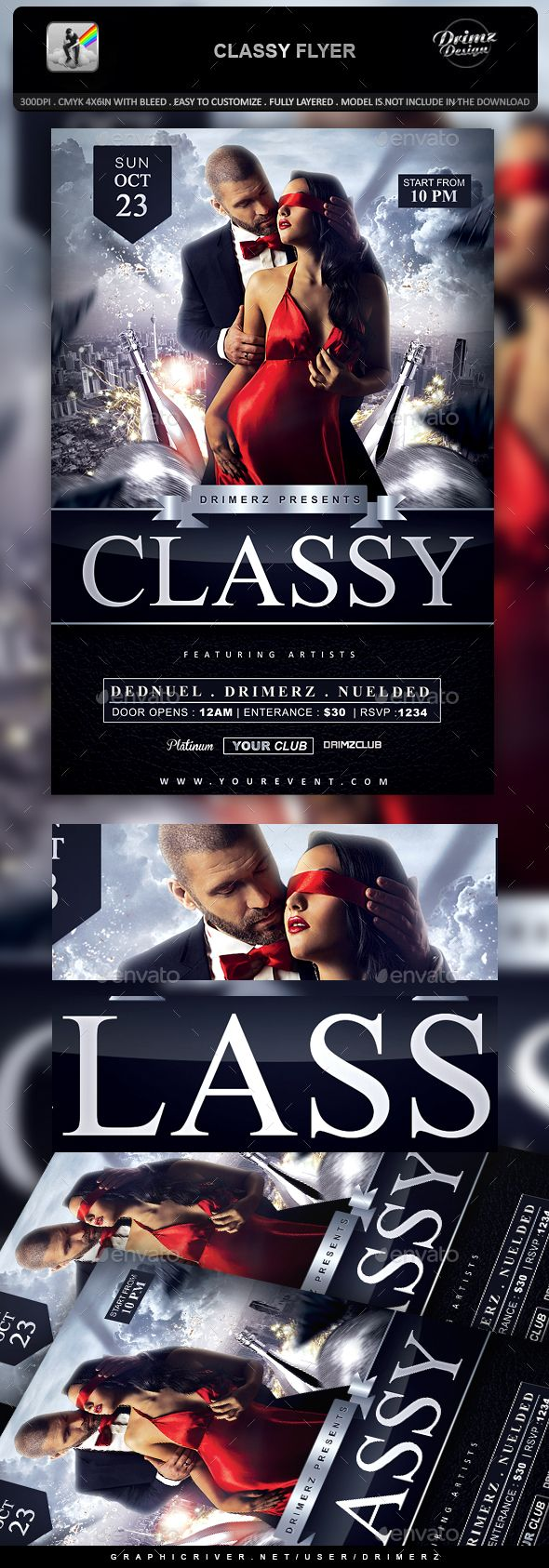 Classy Flyer  Classy Psd Templates And Flyer Template
