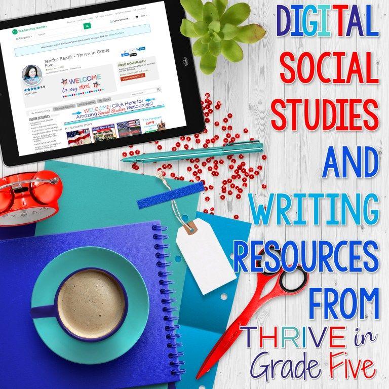 Photo of Digital Social Studies & Writing Resources