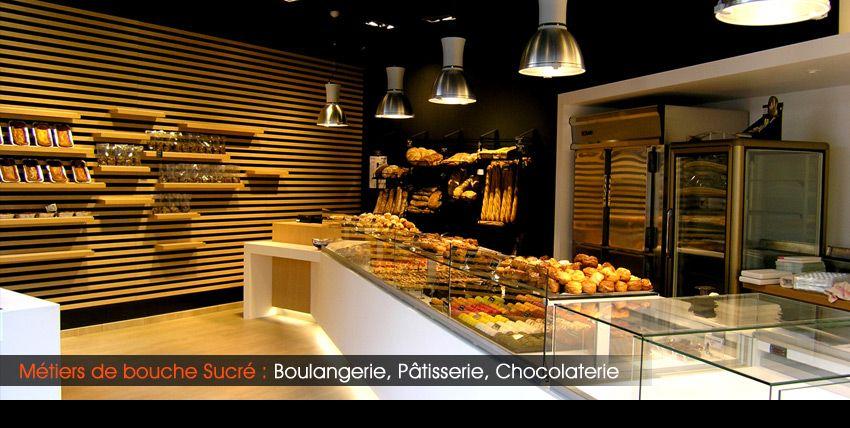 Agencement boulangerie magasin traiteur design patisserie for Agencement cuisine traiteur