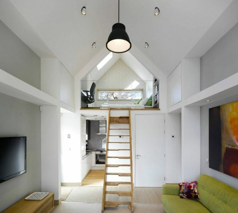 Lit mezzanine une pi ce suppl mentaire cosy et intimiste mezzanine deco - Amenagement chambre mezzanine ...