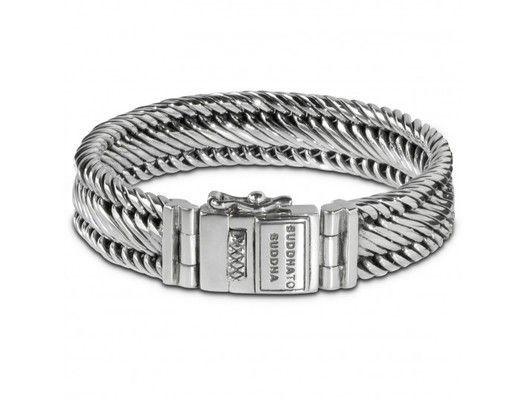 6b017a3e1115f9 Edwin Bracelet Small 151   Buddha to Buddha   Sterling Silver Bracelets