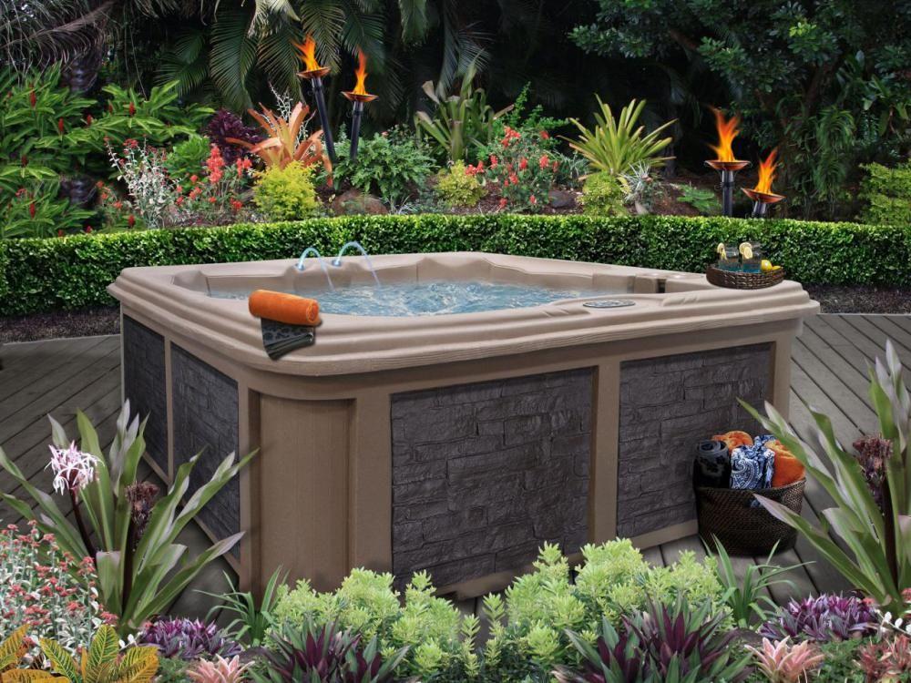 Hot Tub Landscaping Idea