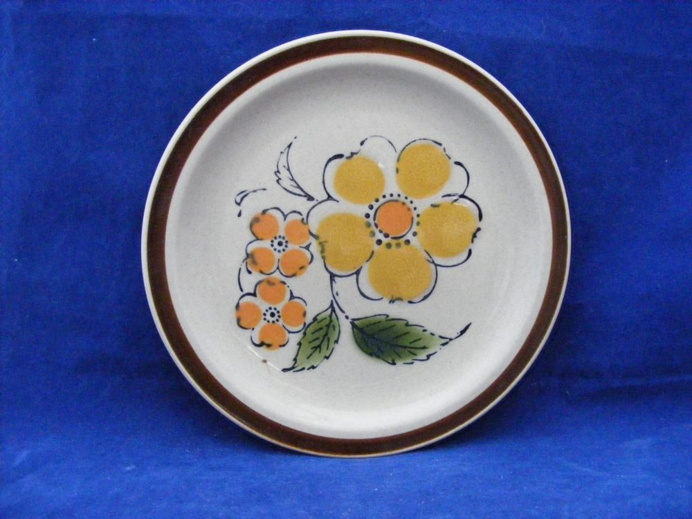 5 Montrose 7.5  Salad Plates Hand Decorated Oven Proof Japan Nice #Montrose & 5 Montrose 7.5