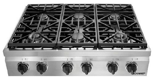 Dacor 36 6 Burner Gas Cooktop Dacor Cooktop Gas Cooktop