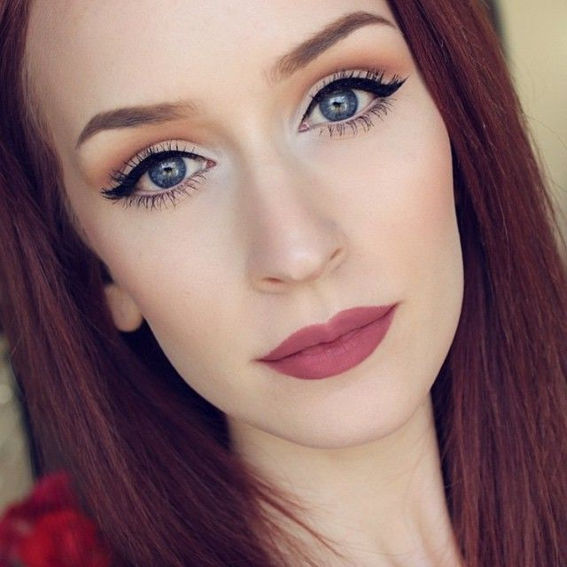 Loving this soft glam look by @kaylahagey using OFRA's ...