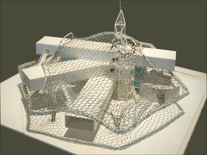Toiture Ban La Centre Pompidou Metzmaquette De Shigeru D'étude cLSjq3A4R5