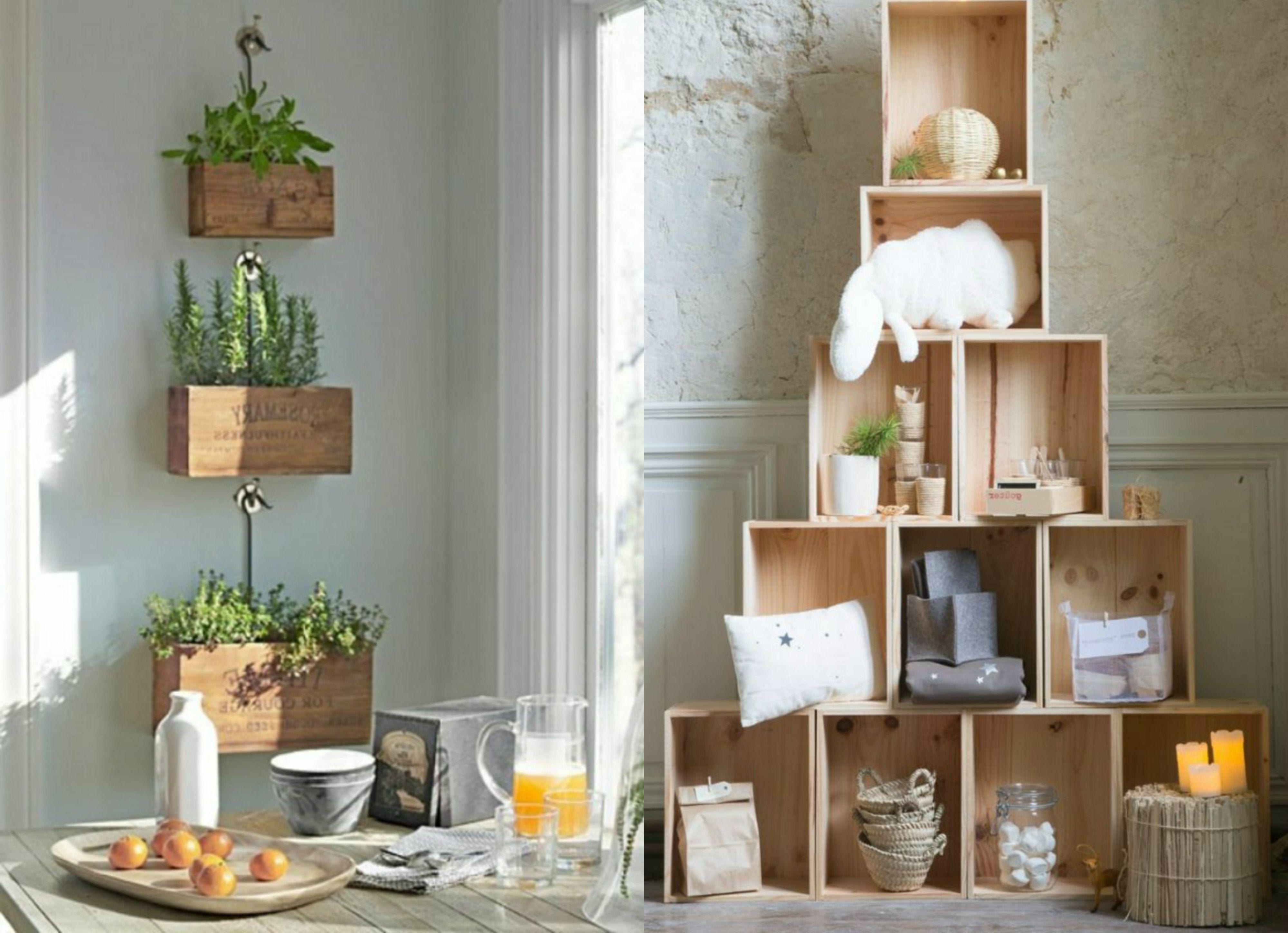 Muebles Con Cajas De Fruta Diy Crate Bookshelf Tutorial With  # Muebles De Jabas De Madera