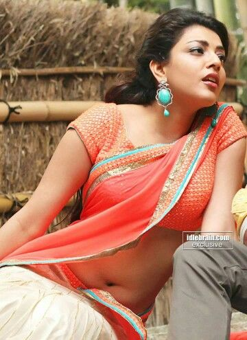 navel hot Kajal agarwal