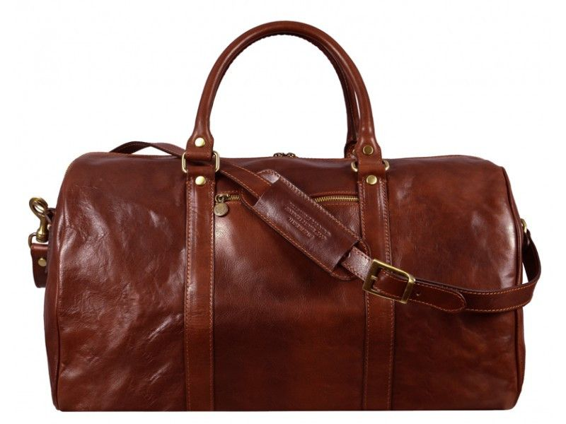 Leather Duffel Bag for Men and Women - The Ambassadors in Various Colors