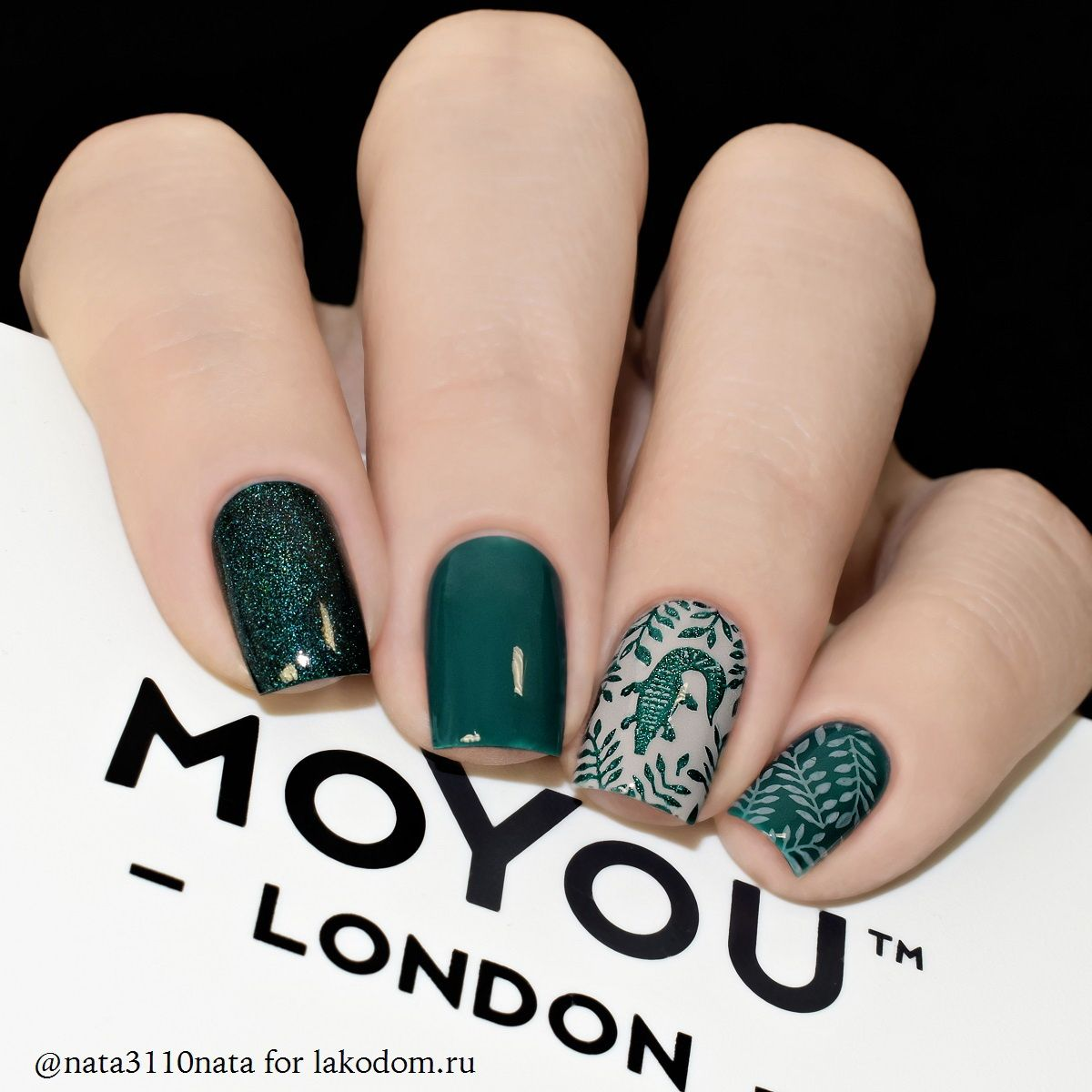 Маникюр moyou london 39
