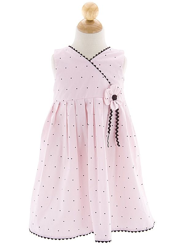 Toddler and Baby Girl Sun Dress