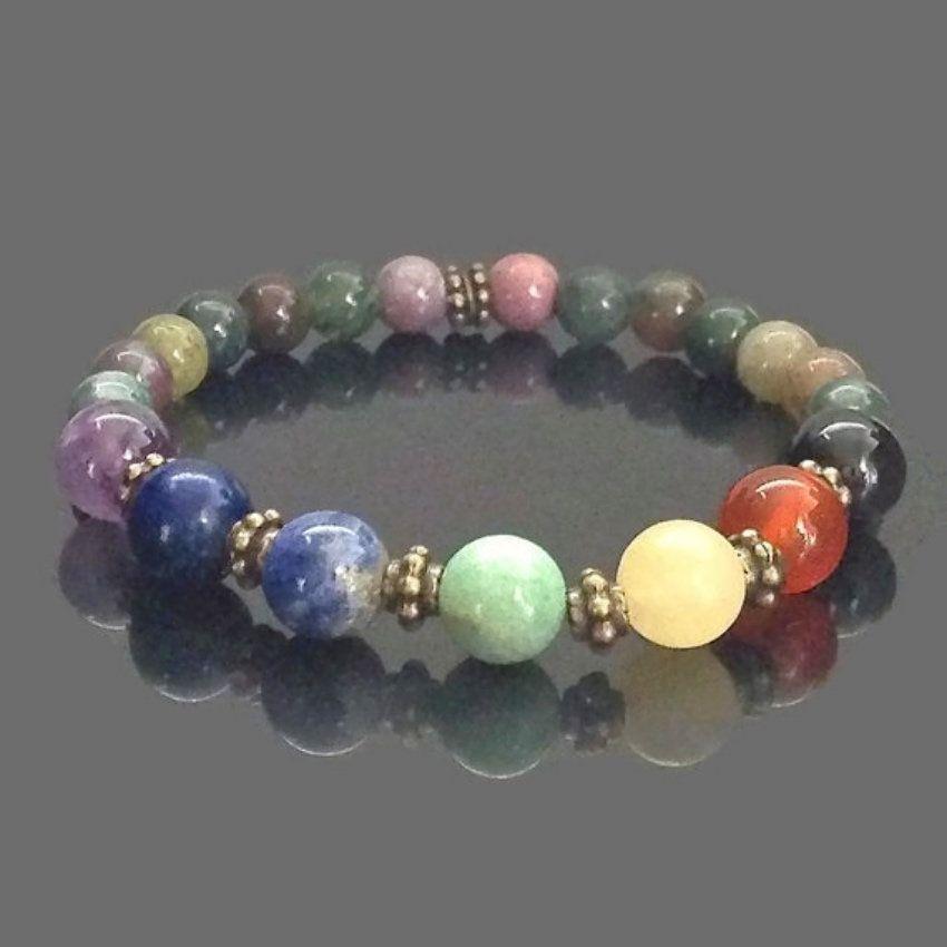 27+ Chakras jewelry with semi precious stones information