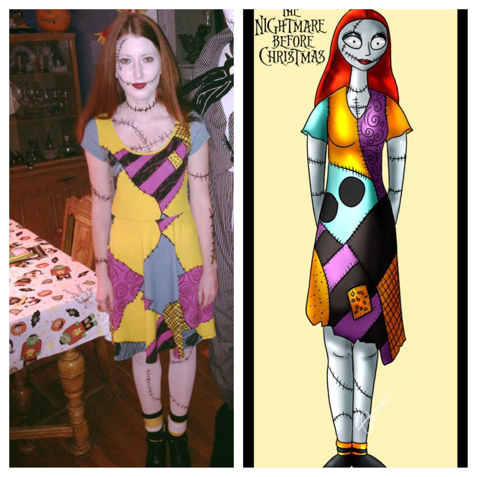 My Nightmare Before Christmas Sally costume ...