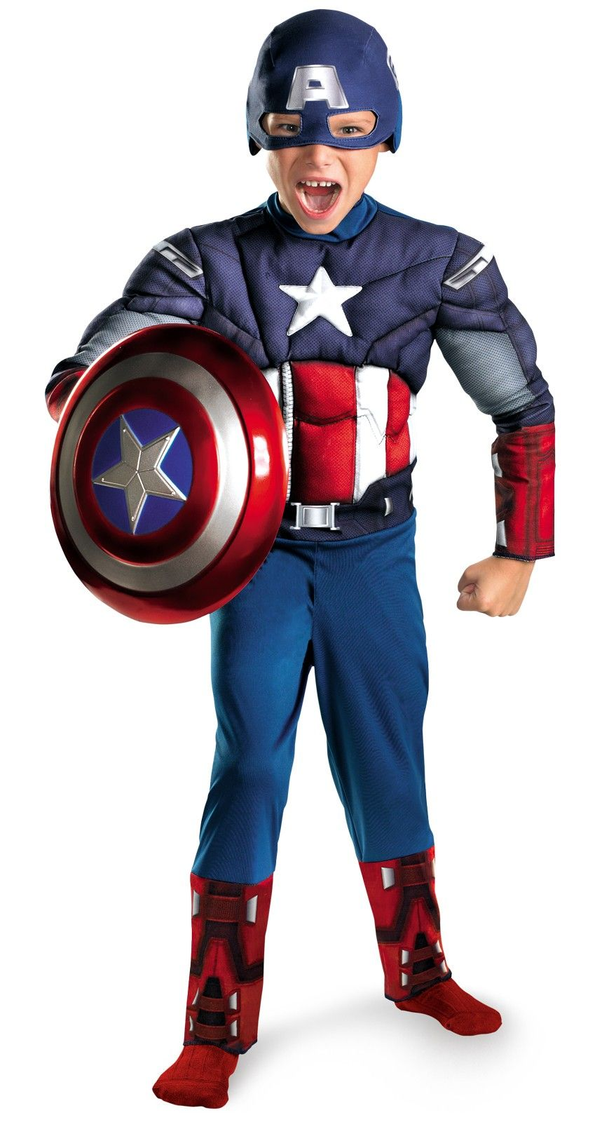 The Avengers Captain America Classic Muscle Chest Child Book Week ...