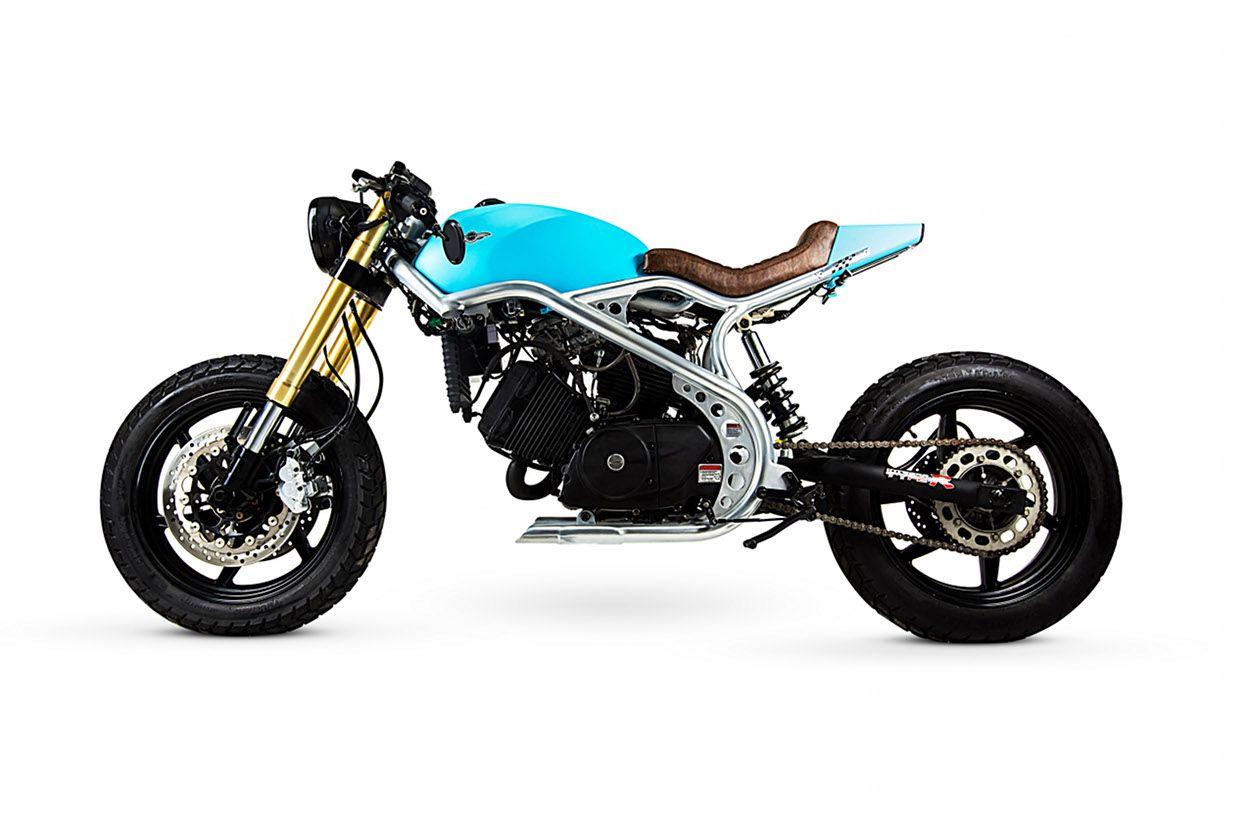 Kasinski Comet Cafe Racer By Lucca Customs Custom Motorcycles