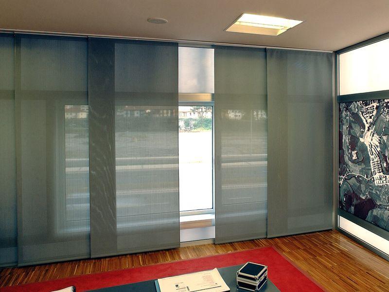 Panel japon s dividiendo espacios pinterest paneles - Cortinas paneles japoneses ...