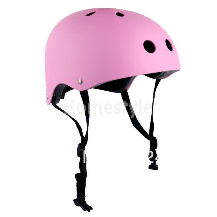 Pink Roller Skating Helmet Skateboard Helmet Helmet Roller Skating