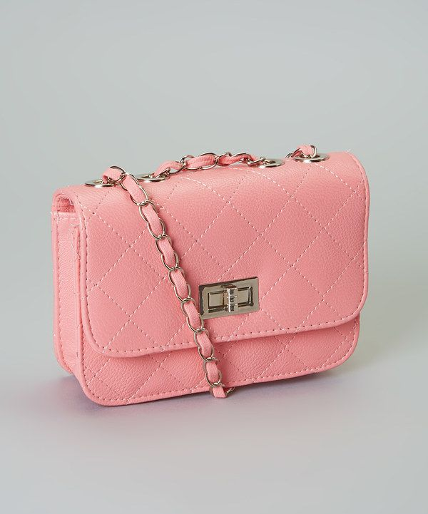 Look at this Pink Quilted Convertible Clutch on #zulily today!
