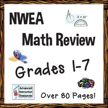 Nwea Math Map Review Nwea Math Nwea Math Map Nwea