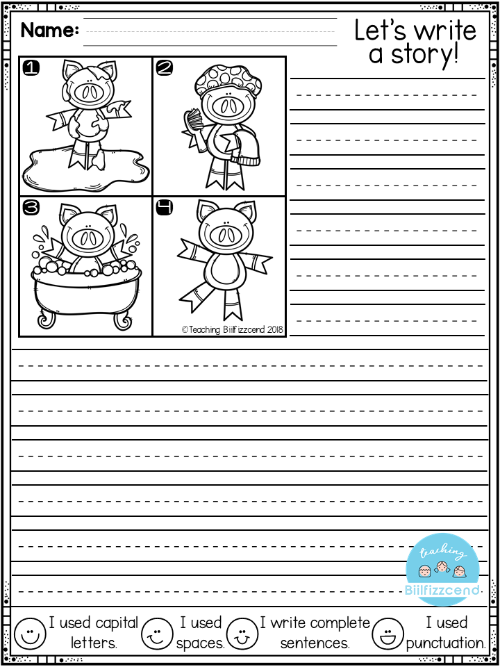 FREE First Grade Writing Activities First Grade Writing, Writing  Activities, Second Grade Writing