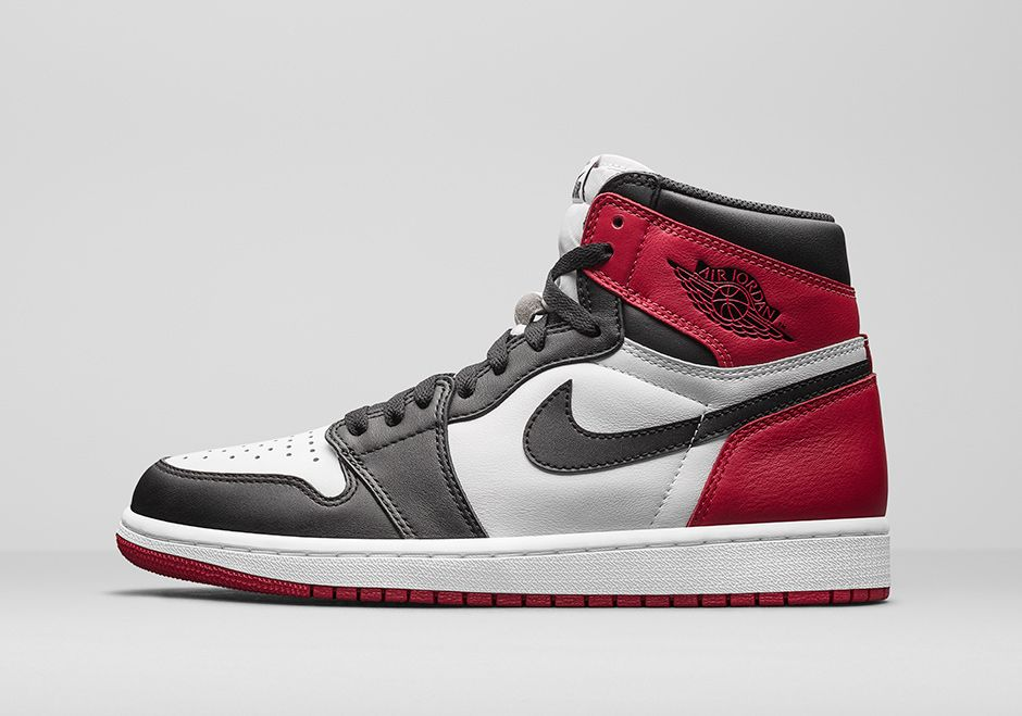 Air Jordan 1 OG Black Toe Retro 2016 Release Date. Air Jordan 1 Black Toe  is an original Air Jordan 1 colorway in White/Black-Red that'll be retrod in  2016