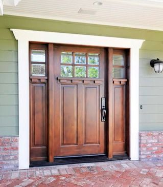 white craftsman front door. Delighful Craftsman Love The Front Door Would Be Perfect On A Craftsman Style Home This  Doorbrick Porch Area Similar Exterior Stain Is Yankee Barn 3505 By  Inside White Front Door