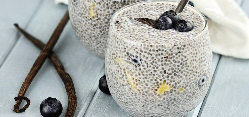 Chia seeds are a powerhouse of nutrients. They're loaded with protein, Omega 3s, and fiber. Plus they're packed with calcium, magnesium and manganese. They are also gluten-free! Here are 10 fun ways to eat chia seeds: 1. Chia pudding with kiwi fruit and pomegranate seeds Place 3 tablespoons of chia seed in a mason jar [...]