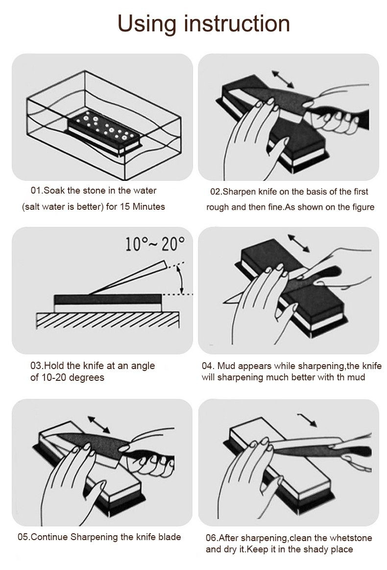 How To Use Whetstone To Milling The Knife Knife Sharpening Sharpening Stone Knife Collection