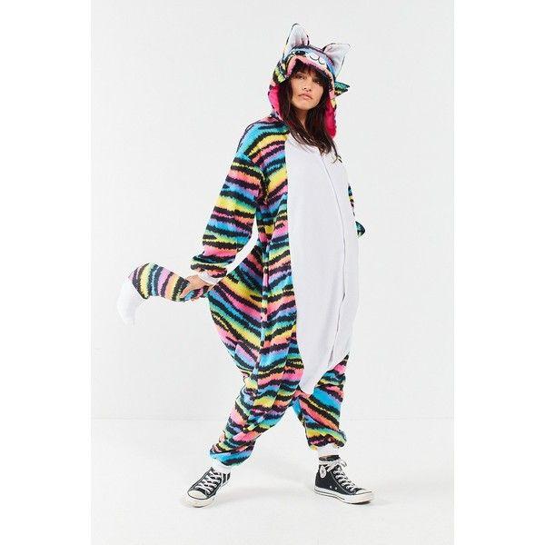 kigurumi rave cat costume 255 brl liked on polyvore featuring costumes urban