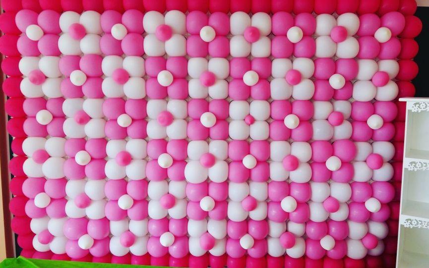 Painel Com Balões Veja Como Fazer Passo A Passo Painel Bola Festa