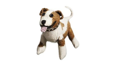 Staffie knitting pattern Battersea Dogs & Cats Home