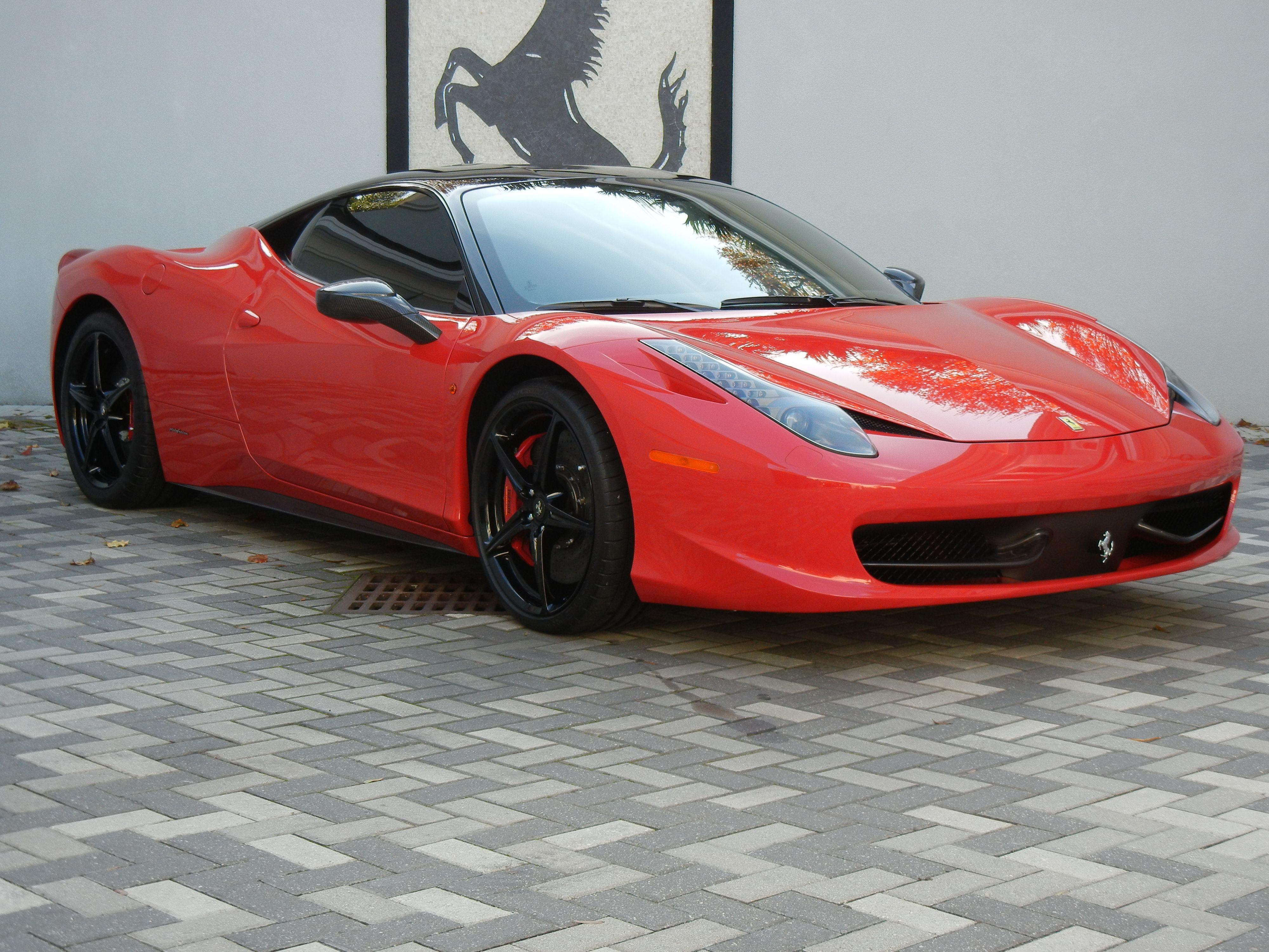 458 Italia #ferrari #car