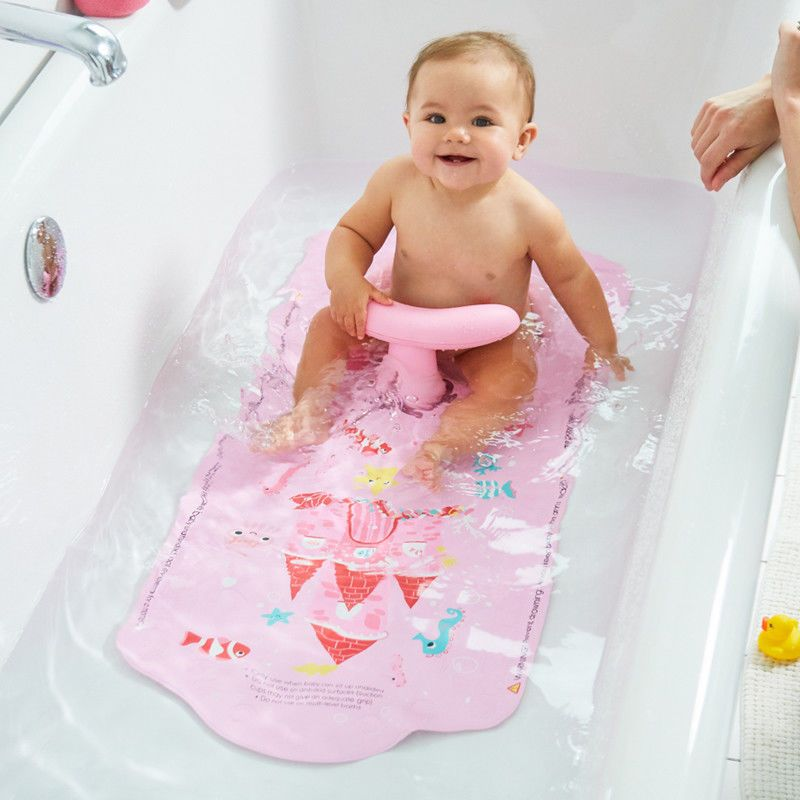 Mothercare Aqua Pod Pink Baby Bath Support Bath Safe Baby Bath Seat