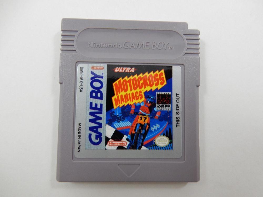 Motocross Maniacs Nintendo Game Boy Games Nintendo Games Gameboy