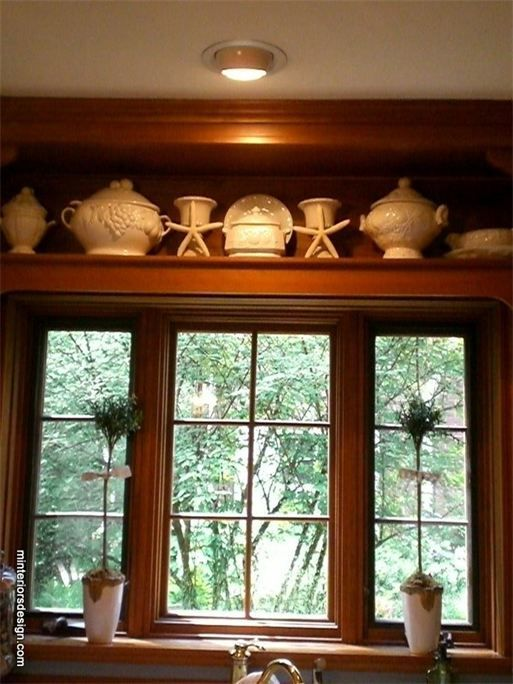 Go Coastal...in The Kitchen With Cream Dish Ware Accented