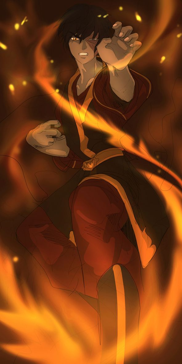 Prince Zuko in Avatar by cuzbo on deviantART