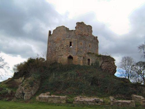 Early Hawarden Castle in Wales