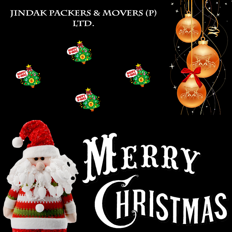 """""""A bag of #JOY, A #gift of #LOVE says #Santa coming on the way"""", #Merry Christmas to ALL."""