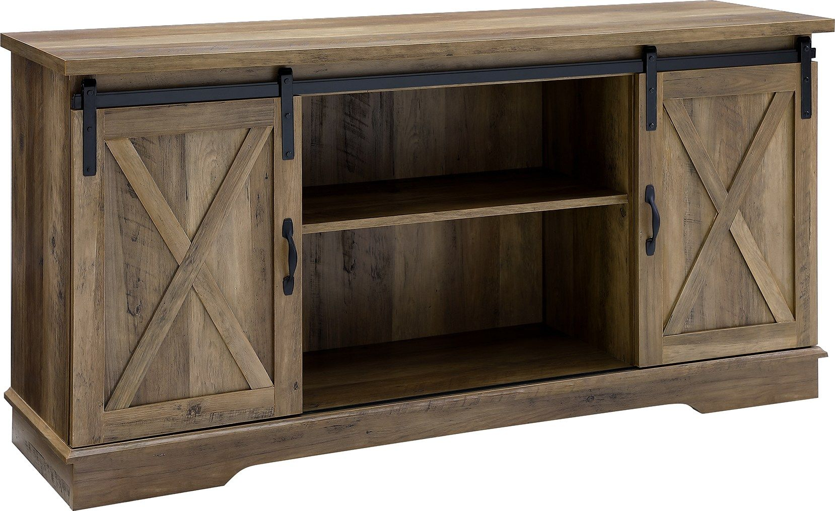 Coneflower Oak 58 In Console 297 0 58w X 16d X 28h