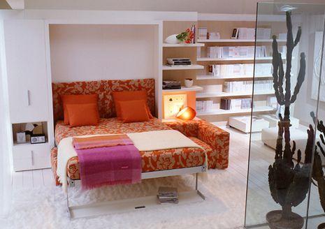 Maximizing Small Spaces | Modern murphy beds, Corner sofa ...