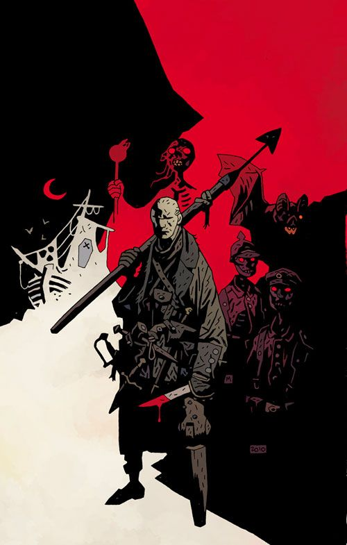 Baltimore - The Plague Ships by Mike Mignola and Dave Stewart