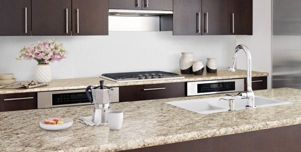 Bianco Romano Wilsonart Sheet Laminate, Countertop Edge